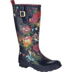 Great for raining days in spring and fall. Love the floral design!