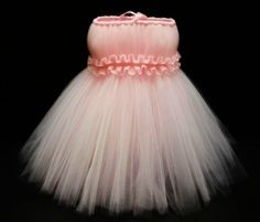 Baby Tutu- Infant Tutu- Tutu-  Newborn Tutu- Pink Tutu- Girls Tutu- Baby Shower Gift-Tutu Dress- Available In Size 0-24 Months on Etsy, $43.00