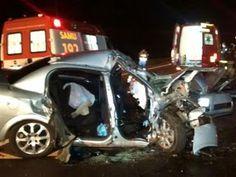 Três mulheres morreram um grave acidente envolvendo um caminhão e um veículo de passeio Astra na rodovia BR-158, na noite de segunda-fei...