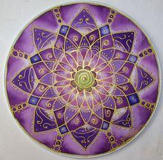 Crown chakra mandala art, Crown Chakra, spiritual, reiki art, mandala art…