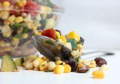 Fresh Summer Salad Recipe - Zucchini and Corn