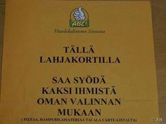 Kuvahaun tulos haulle hauska kuva Finnish Language, T 62, Funny Quotes, Humour Quotes, Haha, Funny Pictures, Memes, Instagram Posts, Sign