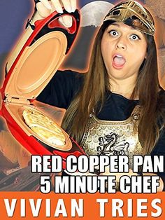 Red Copper 5 Minute Chef Let S Cook With That In 2019