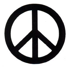 The Peace Symbol, commissioned by the Campaign for Nuclear Disarmament was designed and completed by Gerald Holtom. The logo was not copyrighted and later became known in the wider world as a general purpose peace symbol. The design incorporated the semaphore signals for N and D standing for 'nuclear disarmament'