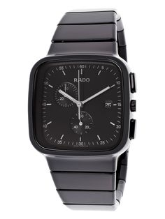 RADO Watch // Men's R5.5 Chronograph High-Tech Ceramic & Stainless Steel Watch by Rado at Gilt