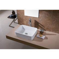 Luxier Ceramic Vessel Bathroom Sink