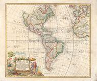Western Hemisphere Old Map Homann Heirs 1746 PDF JPEG Digital Image Scan Download