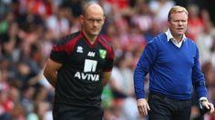 Norwich manager Alex Neil and Southampton manager Ronald Koeman