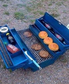 A real men's lunch box :)