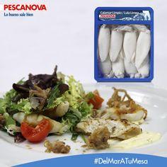 ¿Nos ayudas a preparar la comida? Hoy te proponemos elaborar tu propia receta con el Calamar Limpio Pescanova. ¿Cómo te gustaría cocinarlo?: http://www.pescanova.es/productos/calamar-limpio/?utm_source=rrss&utm_medium=pinterest&utm_campaign=productos_pescanova.