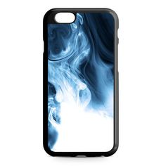 Abstract Blue Smoke iPhone Heavy Duty Case