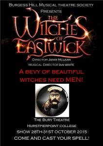 Burgess Hill Musical Theatre Society announces their Eastwick Cast
