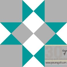 Midnight Kaleidoscope Block - Learn how to make a quilt block pattern that is simple yet intricate when you create this 12 inch quilt block pattern.