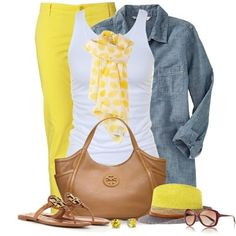 LOLO Moda: Cute summer fashion for women - Trends 2013 Love the yellow I Love Fashion, Passion For Fashion, Womens Fashion, Fashion Trends, Fashionista Trends, Summer Outfits, Casual Outfits, Simple Outfits, Winter Outfits
