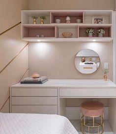 Design to desk❤ Best Living Room Design, Room Design Bedroom, Girl Bedroom Designs, Room Ideas Bedroom, Small Room Bedroom, Home Room Design, Bedroom Styles, Living Room Designs, Bedroom Decor