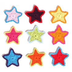 Crochet Simple Star - Tutorial ❥ 4U // hf