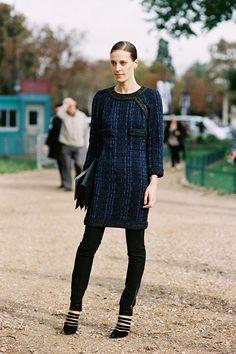 #fashion-ivabellini Vanessa Jackman: Paris Fashion Week SS 2013....Vanessa