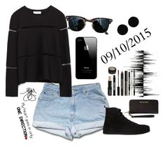 """09/10/2015"" by apcquintela ❤ liked on Polyvore featuring Zara, Ann Demeulemeester, Ray-Ban, MICHAEL Michael Kors, Lord & Berry and AeraVida"
