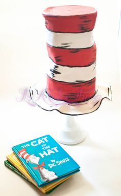 Another Dr Seuss cake for the birthday boy to match the cake that he took to preschool.  This one was to share with us :)