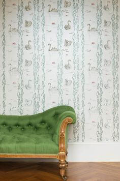 Juliet Travers Ltd - The Albion wallpaper collection will be launching at Decorex '15. The collection has been inspired by animals and nature from around the British Isles [Regal 01]  http://www.juliettravers.com/