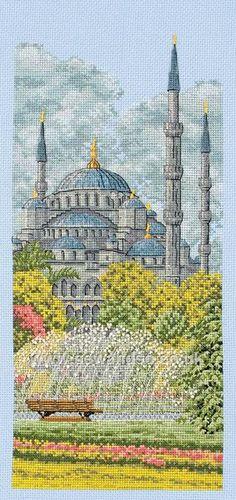 Gallery.ru / Фото #1 - Голубая мечеть в Стамбуле - DELERJE
