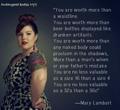 Mary Lambert is inspiring #bodyimage