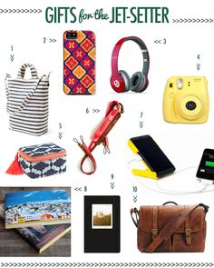 Gifts for the Jet-Setter