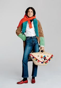 Man Repeller's Leandra Medine (Gasp) Doesn't Check Her Bags