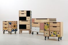 modular furniture Play Play Pattern is is a modular storage concept made from Birch Plywood finished in natural oil and is the result of a design . Multipurpose Furniture, Modular Furniture, Plywood Furniture, Repurposed Furniture, Cheap Furniture, Quality Furniture, Furniture Plans, Rustic Furniture, Furniture Makeover