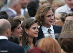 Andrea Casiraghi during HSH Prince Albert II's Accession to the Throne of Monaco Presentation of the Keys of Monaco at Cathedral in Monaco Monaco Andrea Casiraghi, Monaco, Princesa Carolina, Prince Rainier, Prince Albert, Princess Charlotte, Beauty Full, Grace Kelly, Beautiful Children