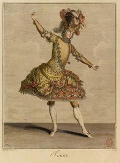 Faune Theatre Costumes Dell Arte Ballet Louis XIV. Importance of Pirouettes. marchmatron.com
