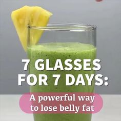 How To Lose Belly Fat In 7 Days weightdietplan weightmanagent caniloseweight weightlossdrink easyweight diettoloseweightfast fastdiet burfat flattummym By DEMIC Healthy Juice Recipes, Healthy Detox, Healthy Juices, Healthy Smoothies, Healthy Drinks, Detox Juices, Detox Recipes, Juicer Recipes, Diet Drinks