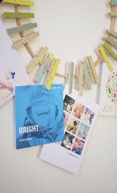Diy Crafts Ideas : Fun DIY display and Christmas cards!