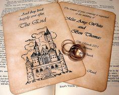 Fairytale Wedding Invitation Suite-Vintage Style (So cute!)