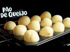 Nunca foi tão fácil fazer um Pão de Queijo! Hoje te ensino uma Receita de Pão de Queijo de Liquidificador muito fácil e rápida de fazer. INGREDIENTES: 1 ovo 1/ My Recipes, Hamburger, Bakery, Eggs, Bread, Cooking, Breakfast, Healthy, Youtube