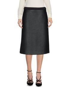 NEIL BARRETT Knee Length Skirt. #neilbarrett #cloth #dress #top #skirt #pant #coat #jacket #jecket #beachwear #