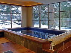 Oh yeah, sure.  I'll take a sunroom with a lap pool and add a hot tub... that would be just fine!  :)