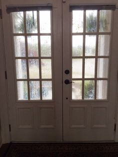 East Meets South: Frosted Glass Door Project