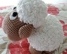 Amigurumi de Crochê Ovelha