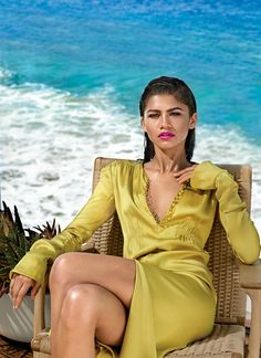 """It's OK to be focused, but I can't get to a point where I don't like what I'm doing. It's gotta be fun and creative and good.""—Zendaya, January Allure cover star."