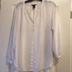 H@M Hi-Lo blouse only worn once H@M Hi-Lo blouse only worn once H&M Tops