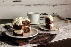 black tea cake|honey buttercream