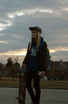 Basically me.... all the time... lol, sweatshirt, water bottle, board, everything... lol