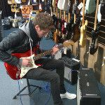 Joel with guitar #LawsonPhotoSpam
