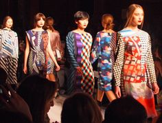 Prints galore at Basso & Brooke