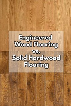 Compare engineered wood flooring with solid hardwood flooring. The main advantage of engineered wood flooring is humidity resistance & easier to install. Unfinished Hardwood Flooring, Types Of Hardwood Floors, Faux Wood Flooring, Engineered Wood Floors, Types Of Flooring, Flooring Ideas, Wood Ceramic Tiles, Real Wood, Engineering