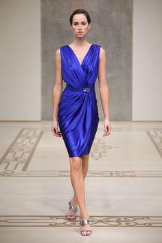 Reem Acra Resort 2010 Fashion Show - Caitlin Lyon