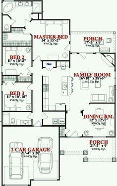 ranch floor plans open concept mankato ii by wardcraft
