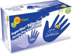 BeeSure SuperSLIM Nitrile