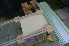 German Homemade cheapo parallel guides for the TS saws